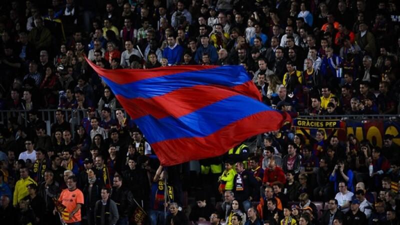 Barcelona aficionados