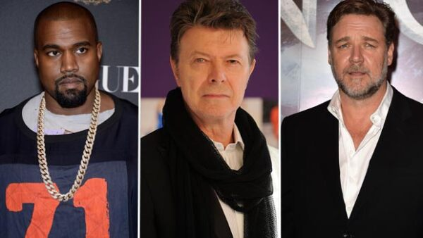 El rapero Kanye West y el actor Russell Crowe son sólo algunas de las estrellas que han compartido a través de las redes sociales su pesar por la muerte del cantante.