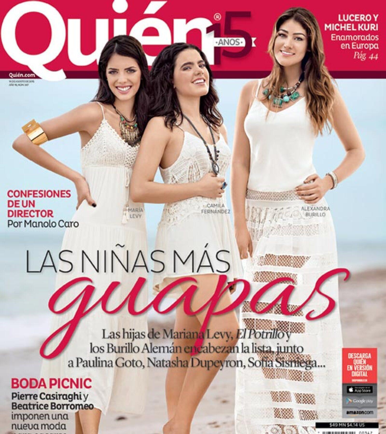 No te pierdas nuestra más reciente portada donde mostramos a las niñas más guapas de México.