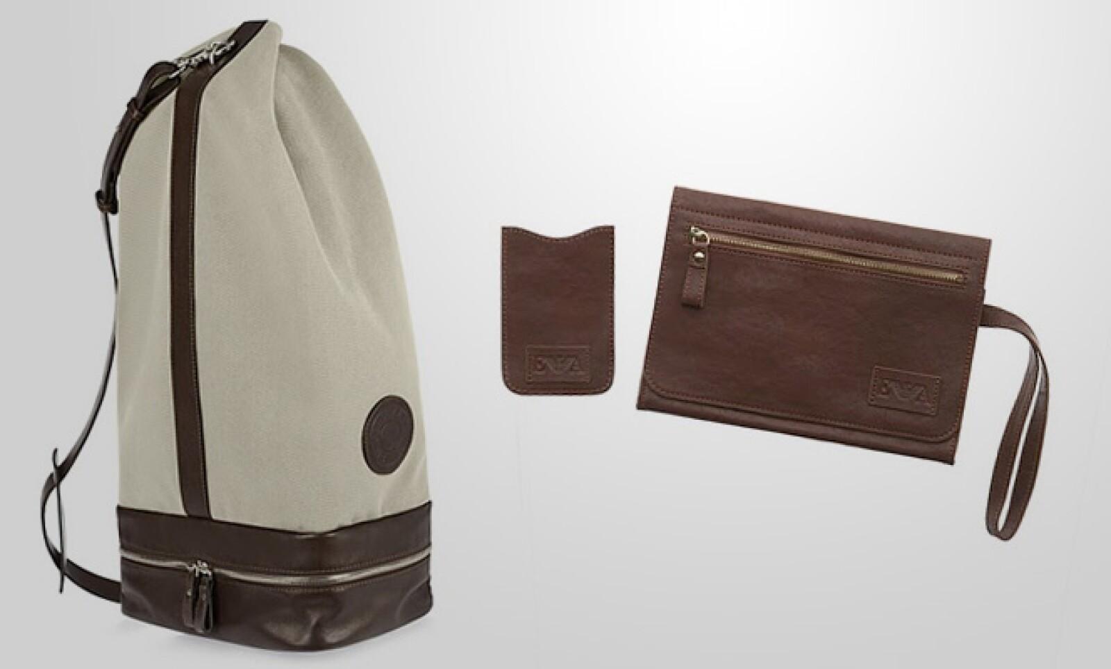 La firma de diseño Emporio Armani se prepara para el verano, con una combinación de materiales relajados como el algodón, y colores entre los que predomina el blanco.
