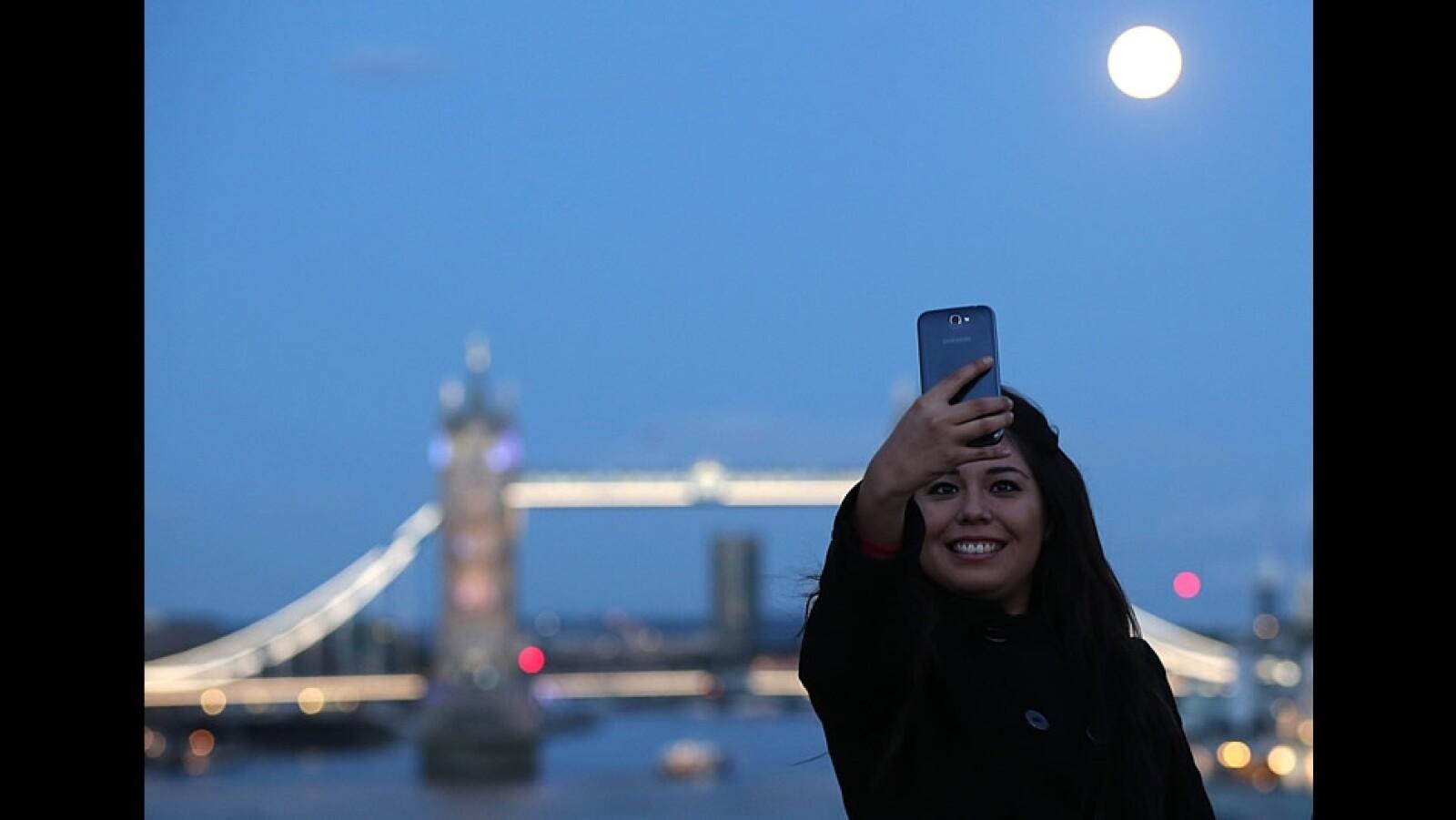 Selfie super luna