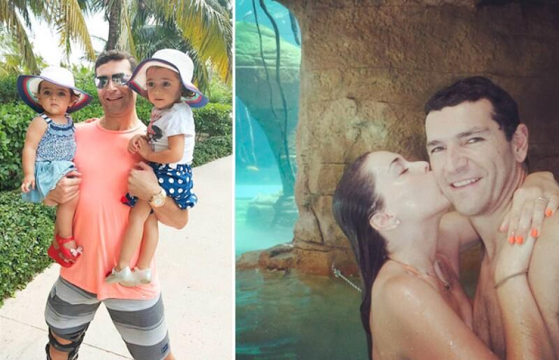 En agosto pasado, Jacky, su esposo e hijas viajaron a las Bahamas para disfrutar de tan bello y paradisiaco lugar.