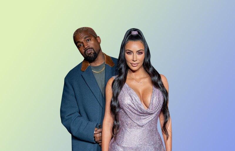 Kim y Kanye West