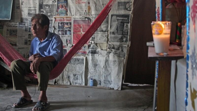 manuel segovia, uno de los dos únicos hablantes de zoque-ayapaneco