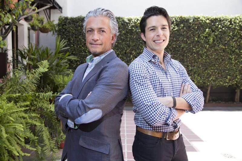 Arturo y Daniel Velasco.