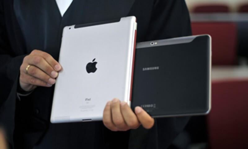 Apple y Samsung tienen fijado un juicio el 30 de julio ante un juez de distrito. (Foto: AP)