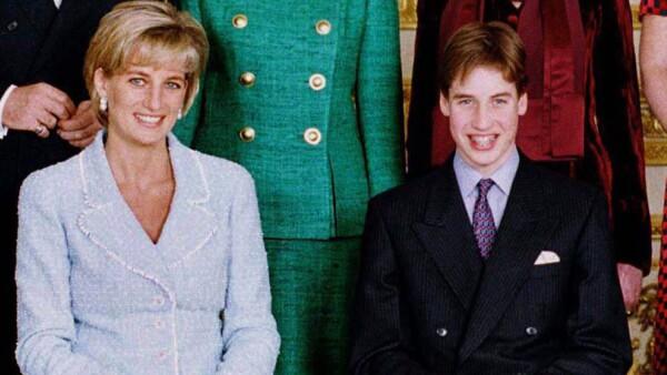 Lady Di, príncipe William