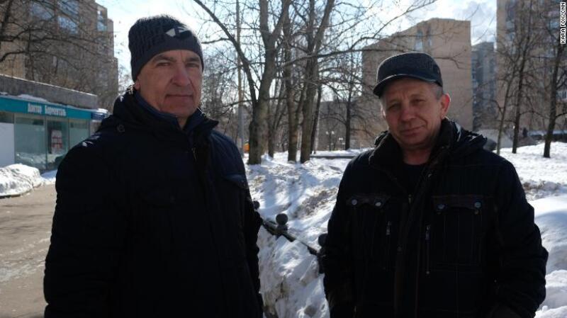 Residentes de Moscú