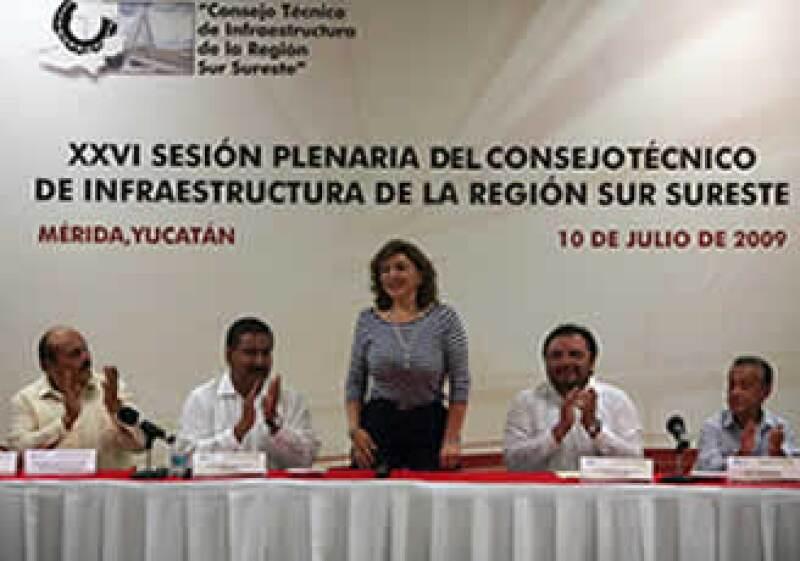 Gobernadora de Yucatán, Ivonne Ortega Pacheco. (Foto: Cortesía Gobierno de Yucatán.)