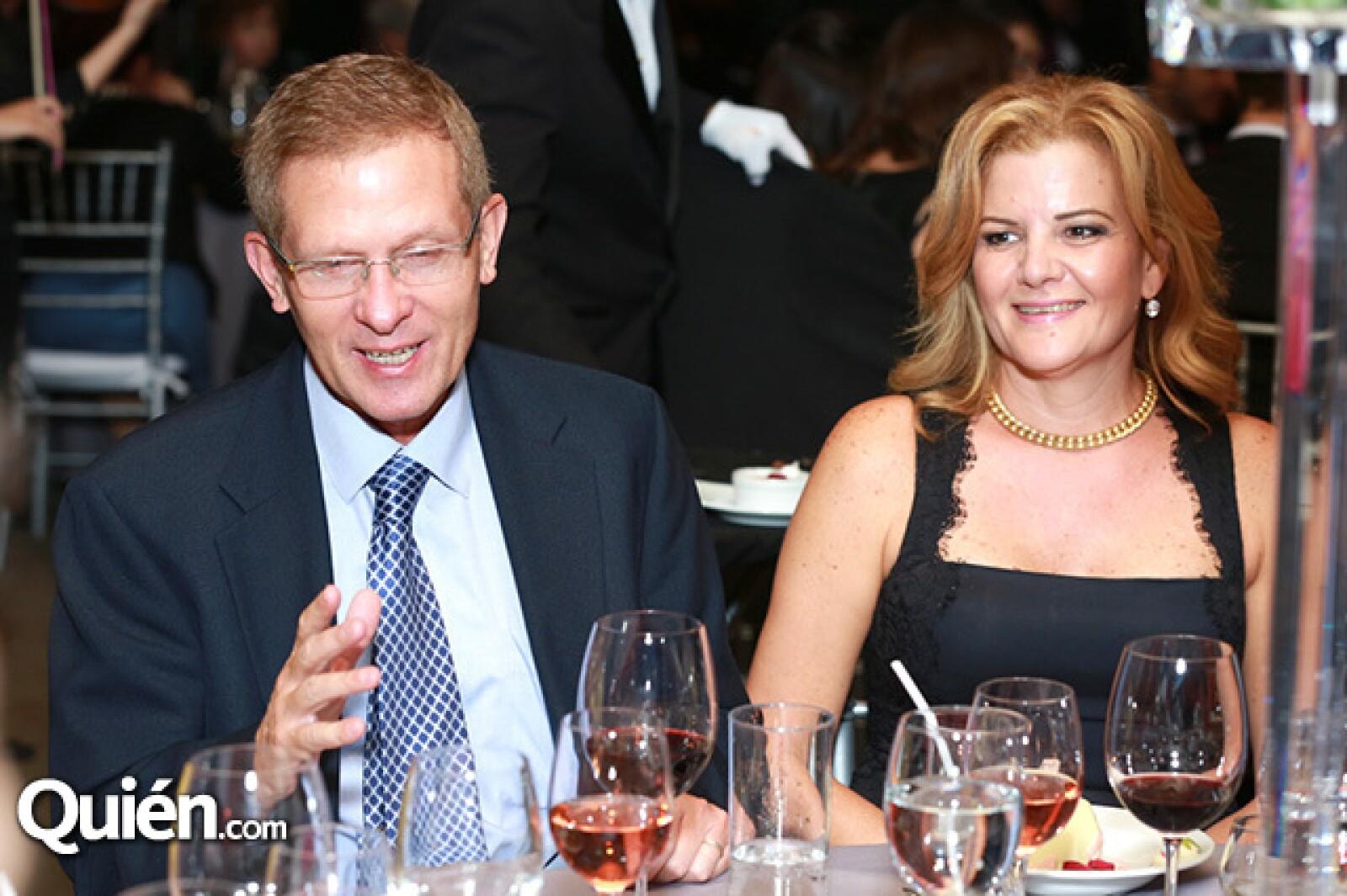 Manuel Junco y Bárbara Junco