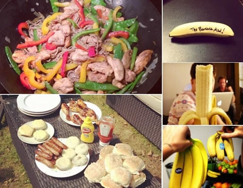 ¡Comida, comida y más comida!