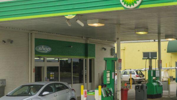 British Petroleum BP gasolinera