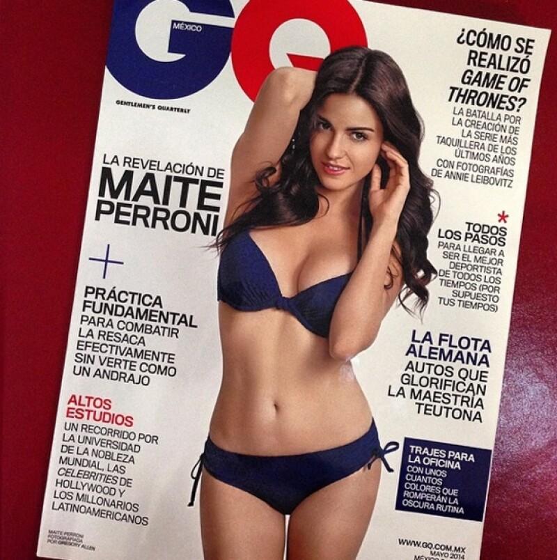Con sensuales poses y en traje de baño, la actriz y cantante será la imagen de una conocida revista masculina. Aquí un adelanto.