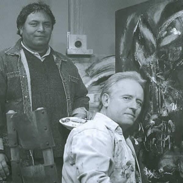 Ismael Ramos ha sido por años maestro de pintura del empresario.