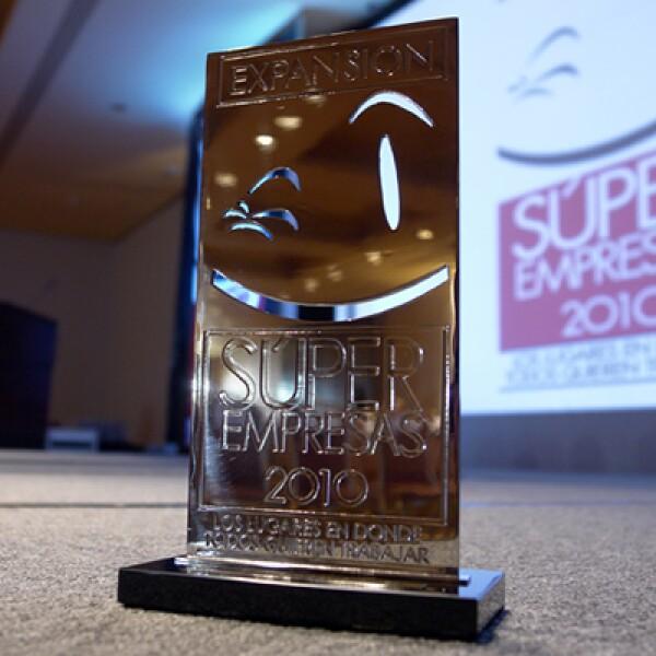 Este fue el galardón que 105 empresas recibieron la noche del 20 de mayo.