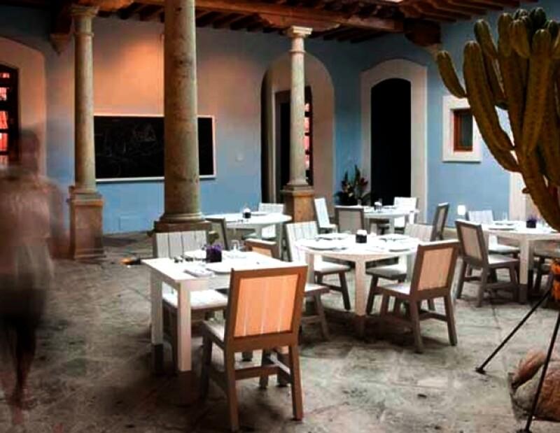 La riqueza artística de Oaxaca es retomada por este hotel.