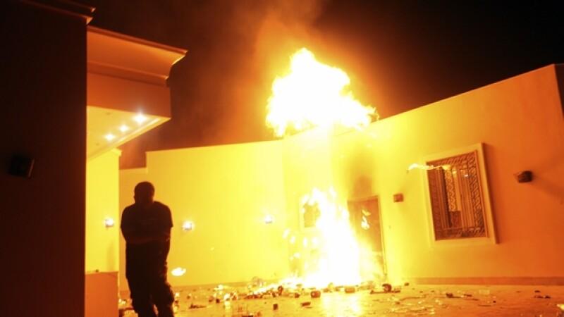 Embajada EU en Bengasi