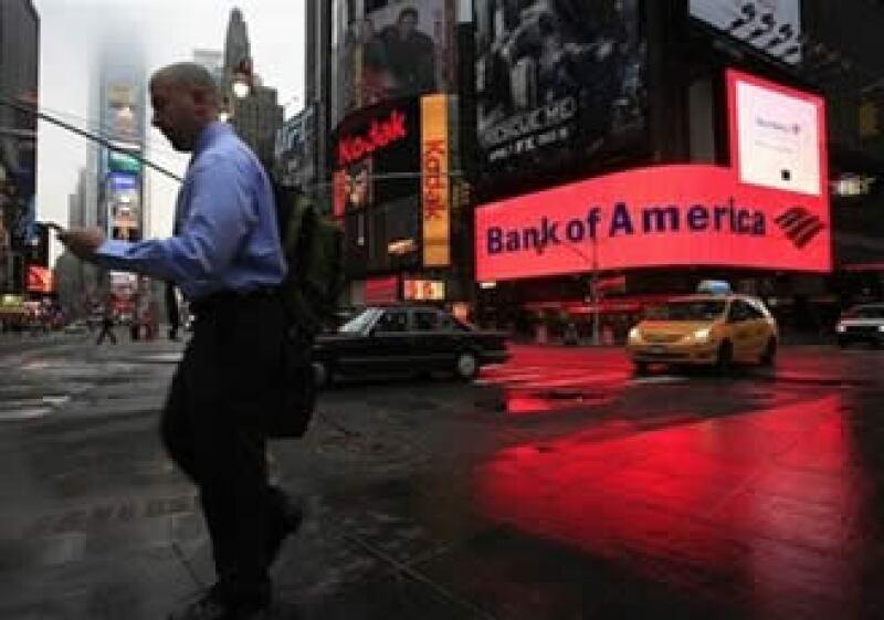 El banco estadounidense aumentó 61% sus ingresos a 32,770 mdd gracias a la compra de Merrill Lynch. (Foto: AP)
