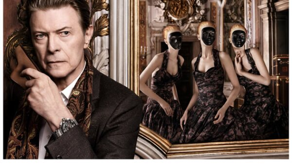 David Bowie es otro de los personajes irónicos que forma parte de los anuncios de Louis Vuitton.