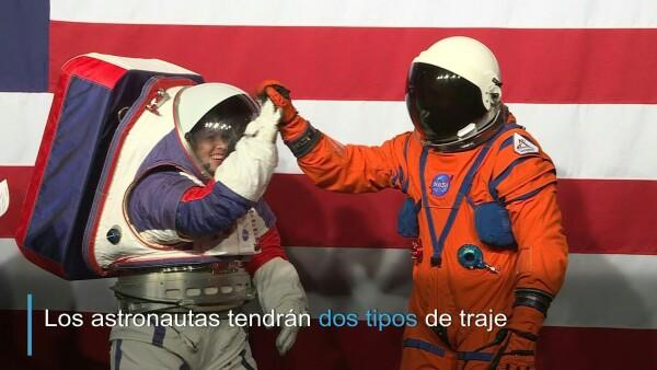 Conoce los nuevos trajes para astronautas de la NASA
