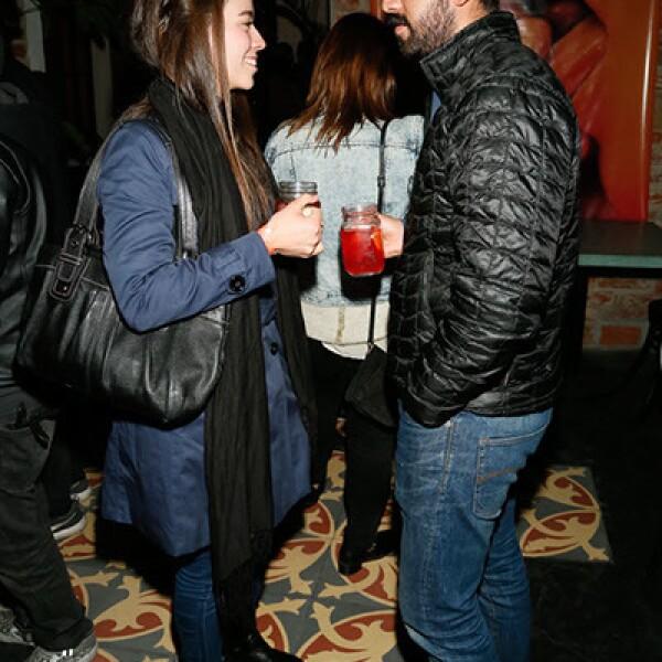 Mariana Alcaraz y Antonio Rivas