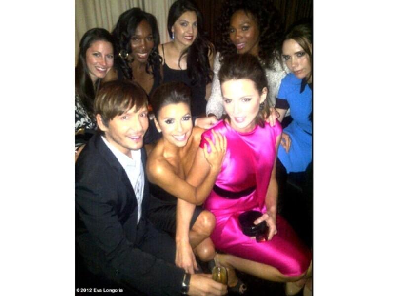 Longoria logró reunir a diversas celebridades.