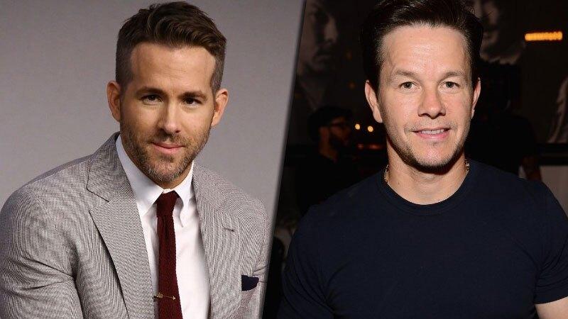 Ryan Reynolds y Mark Wahlberg