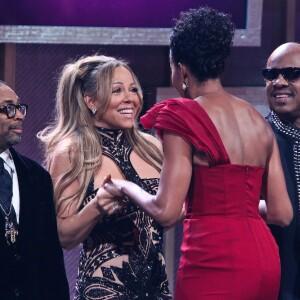 Michelle Obama y Mariah Carey