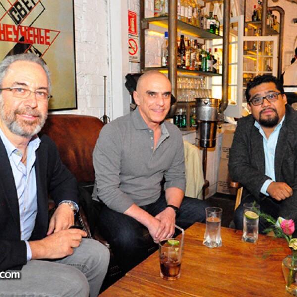 Gerry Pascal,Carlos Pascal,Marcos Betamzos