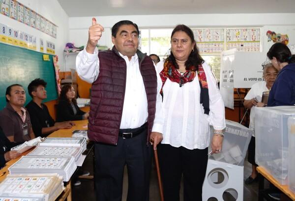 Vota en Tehuacán