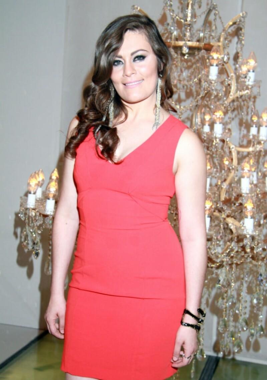 En agosto ya era notable que la actriz comenzaba a ganar peso.