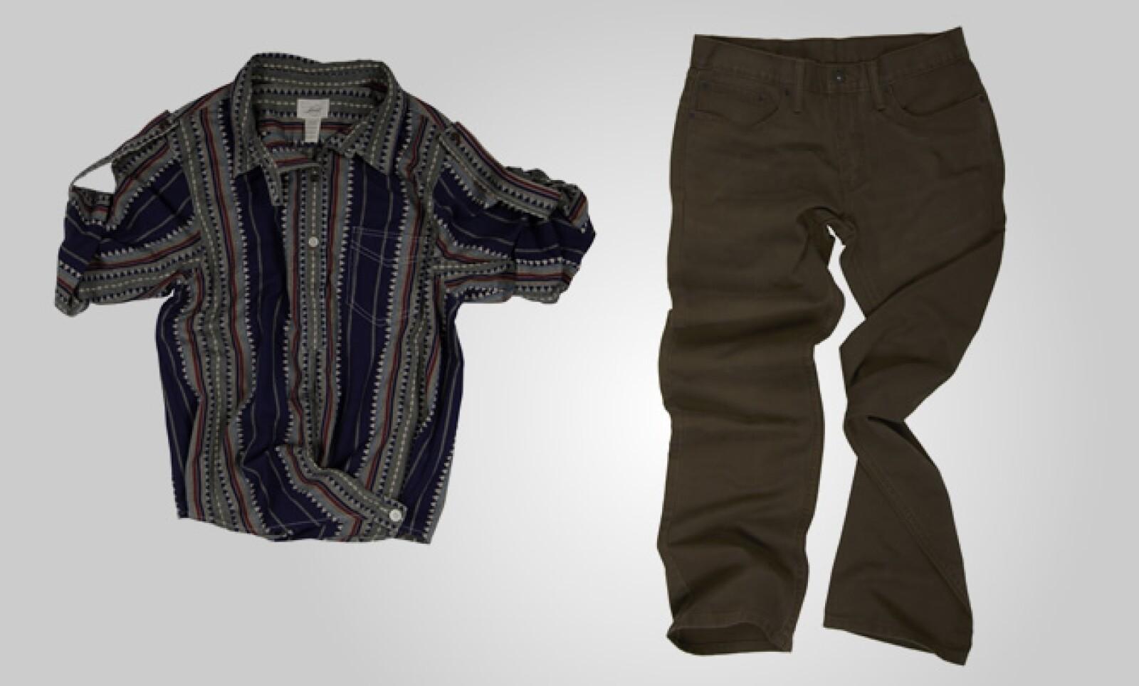 Colores como el gris, café, camello, verde y uva predominan en estos diseños.
