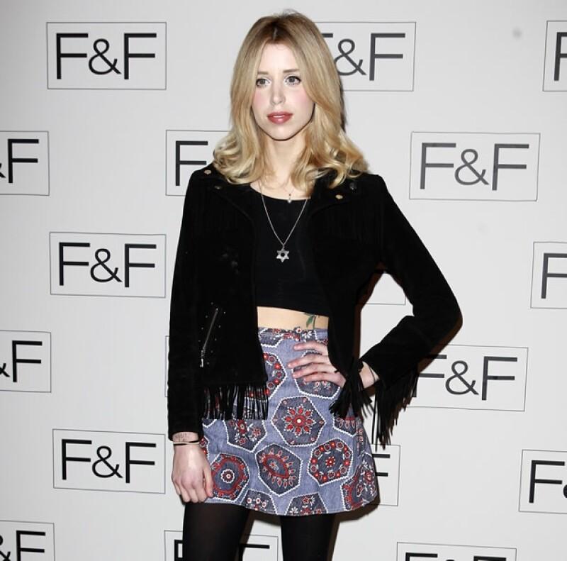 Peaches acudió el pasado 3 de abril al lanzamiento de la nueva colección de F&F en Somerset House en Londres.