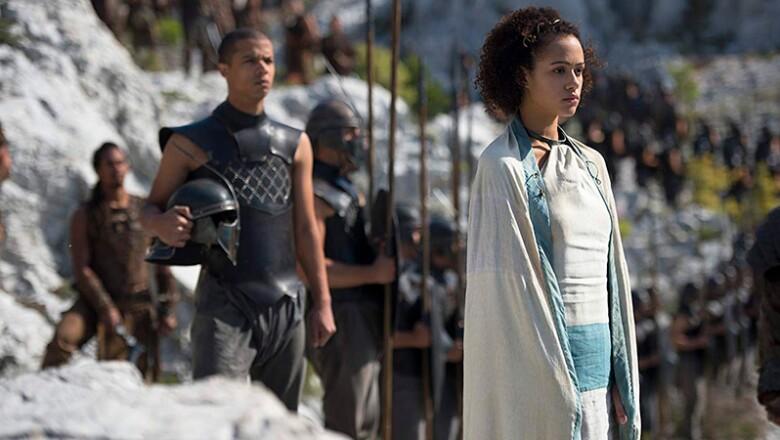 Nathalie Emmanuel en 'Game of Thrones'