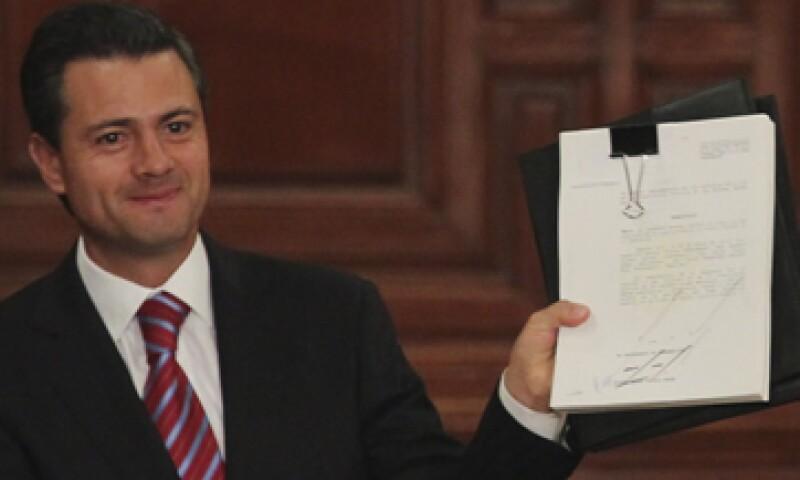 Peña Nieto recuperó la presidencia para el PRI, tras 12 años de gobiernos panistas. (Foto: Cuartoscuro)