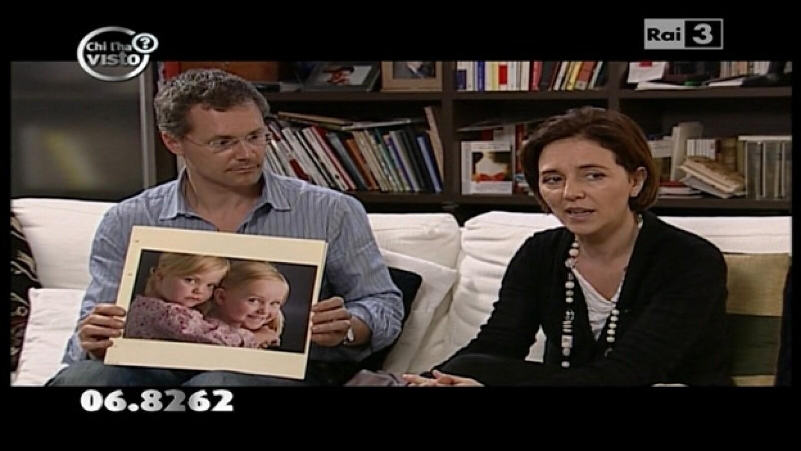 Suiza - Italia - mamá y tío - mellizas desaparecidas