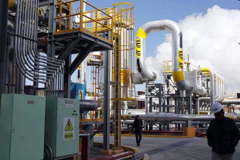 Central geotermoeléctrica de CFE