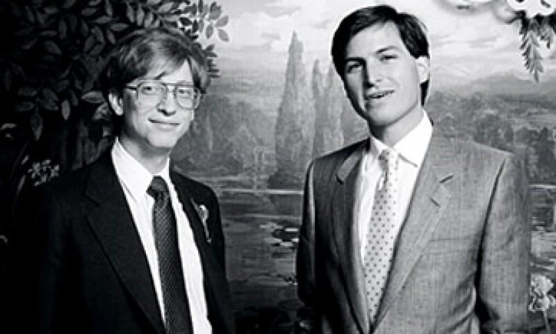 Steve Jobs y Bill Gates se reunían frecuentemente para elaborar el software de la Apple II. (Foto: Cortesía Fortune)