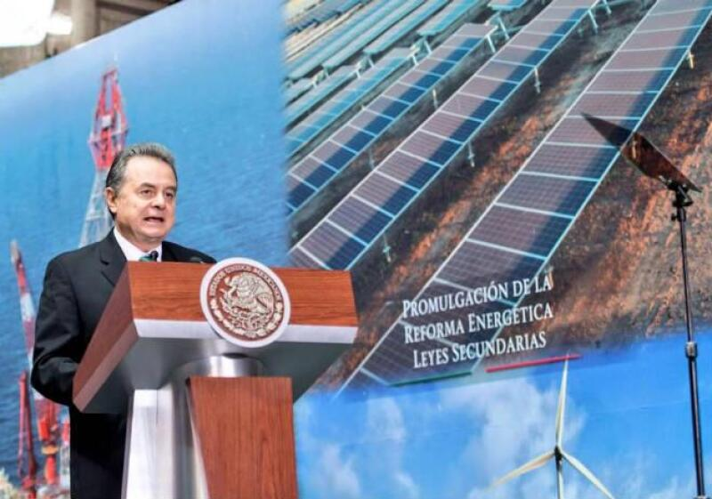 Pedro Joaqu�n Coldwell, secretario de Energ�a