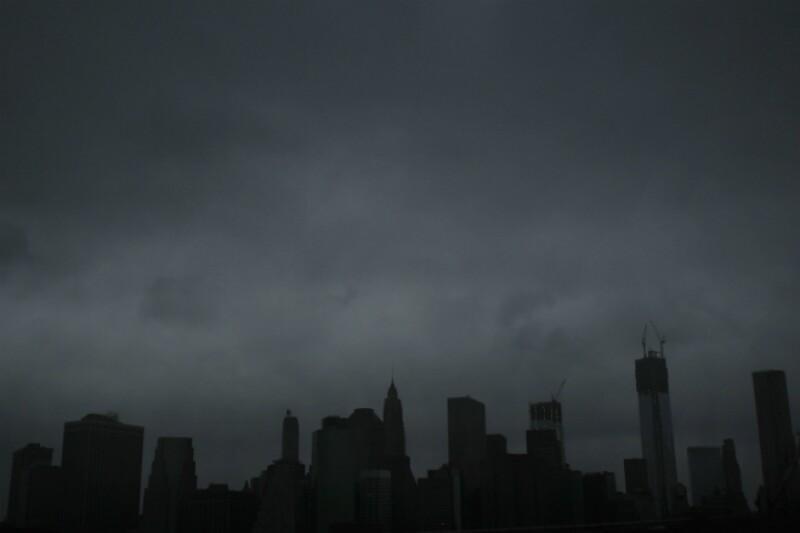 huracanes nueva york edificios