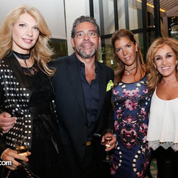 Constantina, Margineanu, Saniel Soumuano, Patricia Romero y Jackie Micha