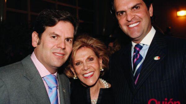 Jua Pablo Bailleres, Teresa Bailleres, Alejandro Bailleres