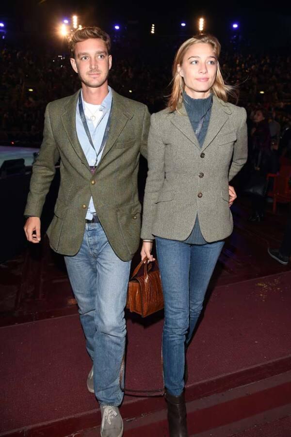 En octubre pasado, Beatrice y Pierre asistieron a Milán Fashion Week.