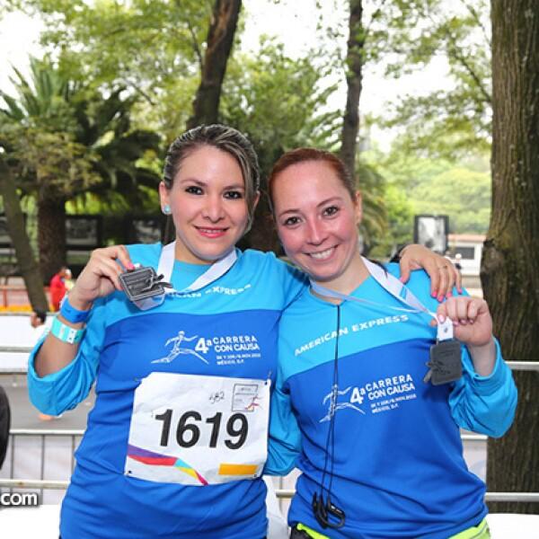 Romina González y Rosana Morales