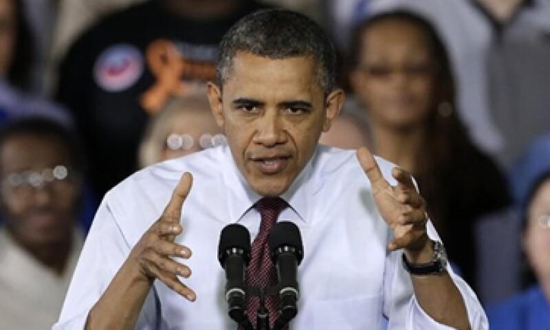 """Barack Obama escribió en su Twitter """"Cuatro años más"""" y su mensaje se convirtió en el más retuiteado de la historia. (Foto: Reuters)"""