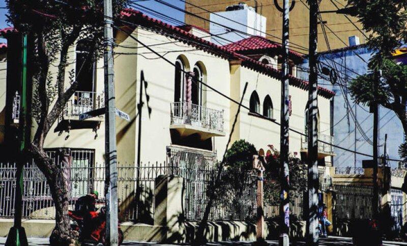 LA PRIMERA CASA. Slim y su familia vivieron en este lugar hasta 1947, luego se mudaron a Polanco.