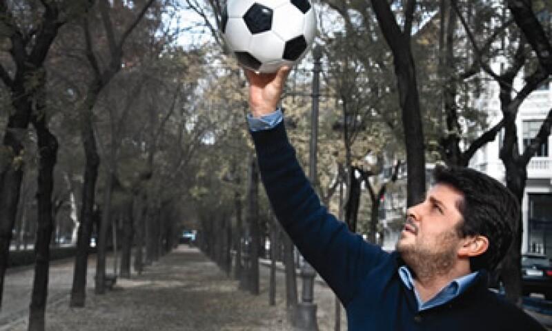 Juan Carlos Padilla Salgado intentó hacer del club Dénia una incubadora de talento futbolístico mexicano. (Foto: Iván Rendón)