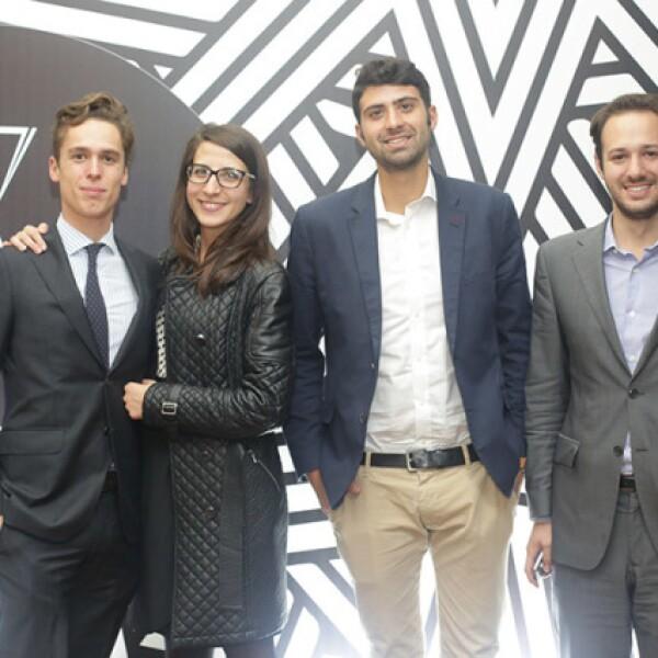 Lodovicco Margot,Elisa Bai,Francesco Traviano y Jorge Villa