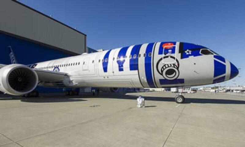 Los pasajeros verán las 6 películas que ya existen de Star Wars durante los vuelos. (Foto: ANA/Cortesía)