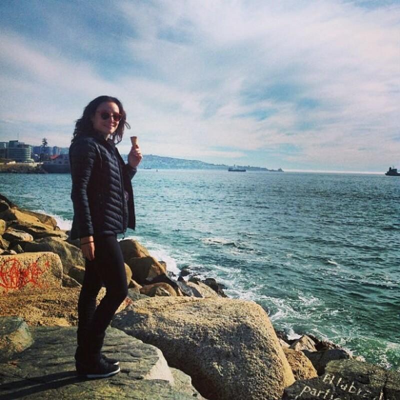 Marimar pudo visitar lugares como Viña del Mar en su tiempo libre.